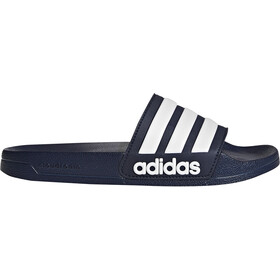 adidas Adilette Shower Slides Men, collegiate navy/footwear white/collegiate navy